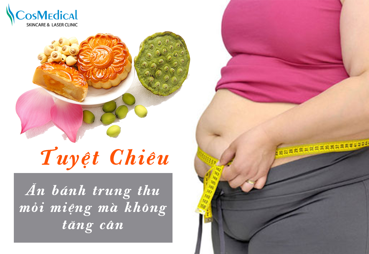 ăn bánh trung thu mà không tăng cân