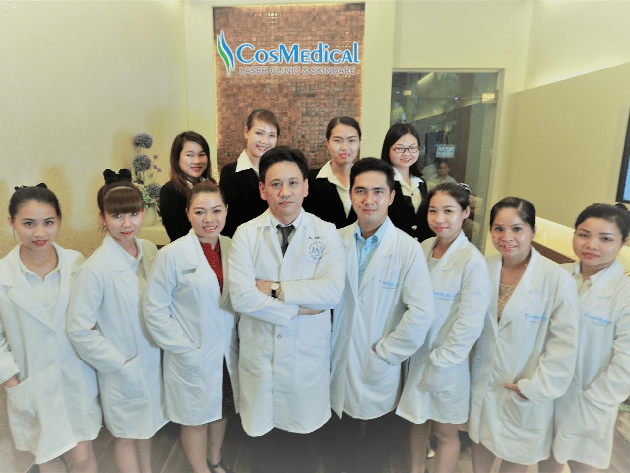 Đội ngũ Chuyên gia, Bác sĩ tay nghề cao tại CosMedical Clinic
