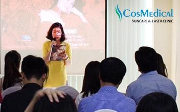Hội thảo CosMedical Clinic Hà Nội chia sẻ giải pháp chống lão hóa toàn diện từ Dr.Vin Trần