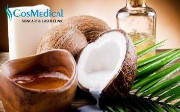 Tuyệt chiêu trị mụn ẩn dưới da bằng dầu dừa