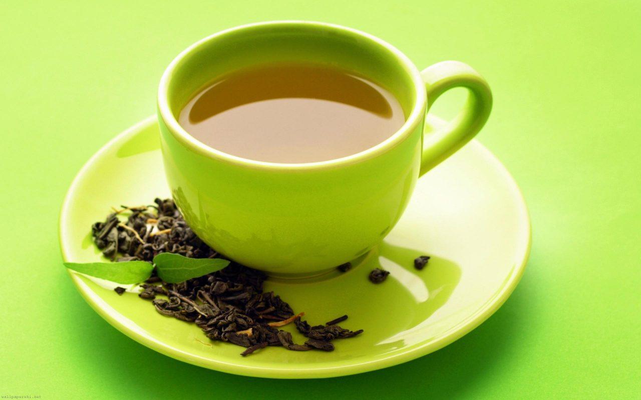 Điều trị nám vùng má bằng trà xanh