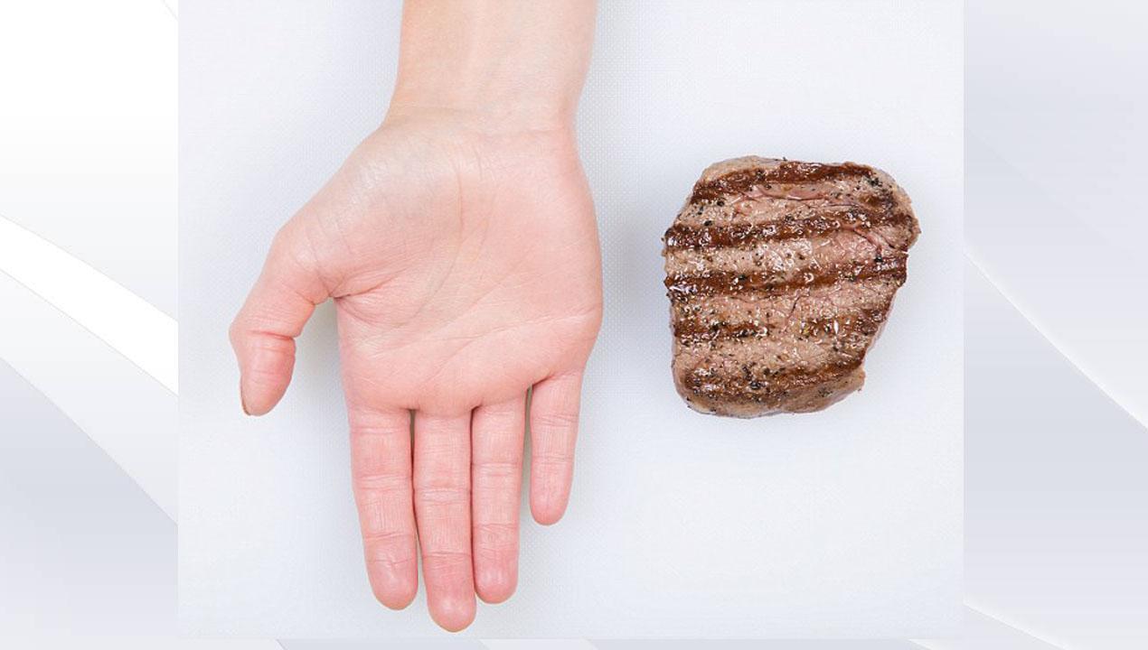 mẹo lên thực đơn với thịt trong lòng bàn tay