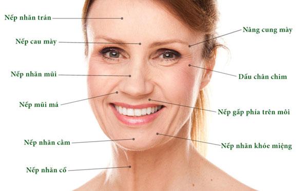 Những biểu hiện lão hóa da mặt