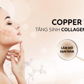 Cấy Copper Tripeptide tái tạo collagen - Bí quyết của làn da rạng rỡ