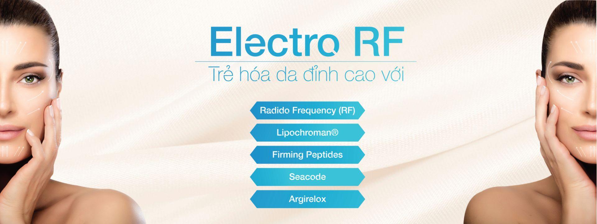 liệu trình Electro RF tại trung tâm CosMedical Clinic