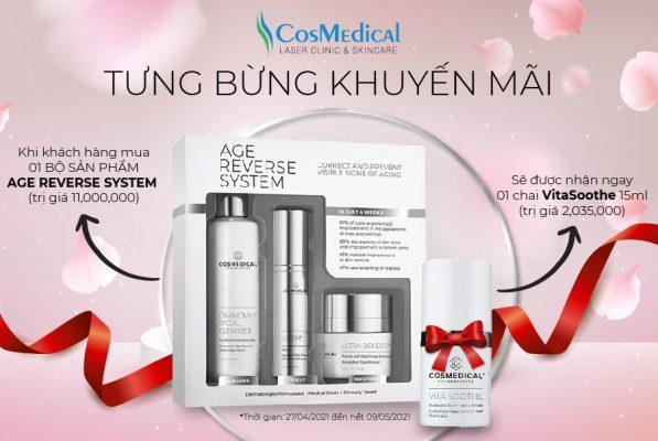 Cosmedical Clinic Tưng bừng khuyến mãi