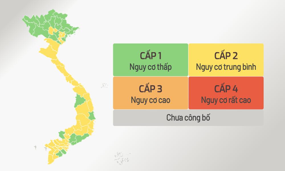 Cả nước có 26 tỉnh, thành 'vùng xanh'